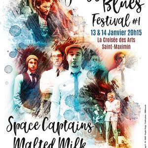 JAZZ'N BLUES Festival - Malted Milk & Space Captains