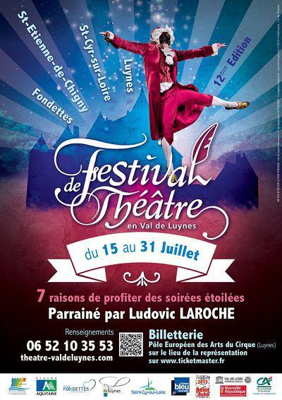 12ème Festival de Théâtre en Val de Luynes : PAR GOURMANDISE