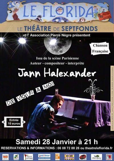 Jann Halexander en concert 'De Vous à Moi' au Florida