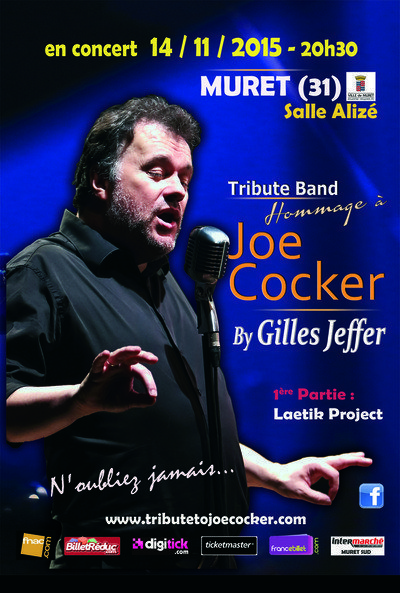 TRIBUTE to Joe Cocker by Gilles Jeffer