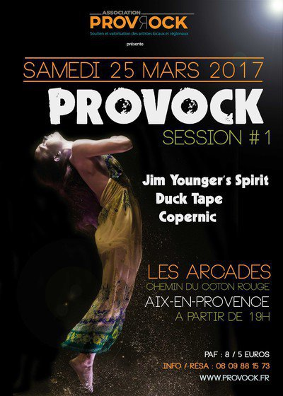 Provock Session #1 - Jim Younger's Spirit / Duck Tape / Copernic