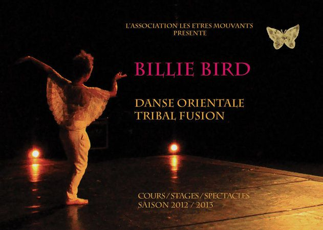 ©  - billie bird cours de danse orientale tribal fusion