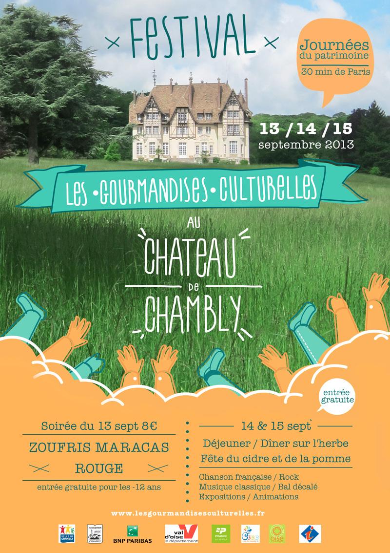 Les gourmandises culturelles font leur festival chateau for C mon garage chambly 60230