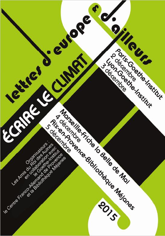Rencontres littéraires internationales d'aix en provence