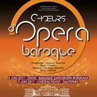 Choeurs d'opéra baroque