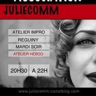 ECOLE DE THEATRE  ADULTES REGUINY avec JulieComm