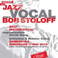 Le Jazz vocal avec Bob Stoloff