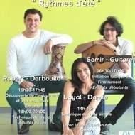 """Stages """"Rythmes d'été"""" musique et danse"""