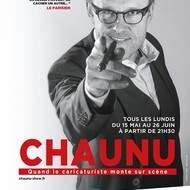 Chaunu, showman dessinateur