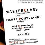 Masterclass Chorégraphique avec Pierre Pontvianne de la Cie Parc