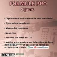 Genetik Studio - Studio d'enregistrement à domicile