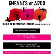 Ecole de Théâtre dès 4 ans JulieComm Locminé