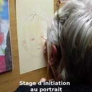 Stage d'initiation au portrait d'après photographies - août 2015