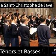 Recrutement Ténors et Basses Maîtrise de Saint-Christophe de Javel